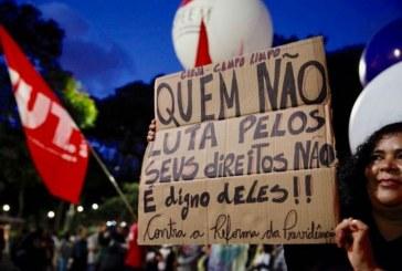 Centrais sindicais convocam mobilização nacional contra 'reforma' da Previdência
