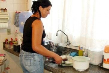 Mulheres e homens no trabalho doméstico não remunerado