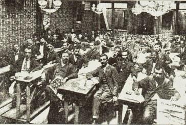 22 de abril de 1906: ocorre a sessão final do 1º Congresso Operário Brasileiro, tentativa pioneira de congregar os movimentos de trabalhadores no Brasil