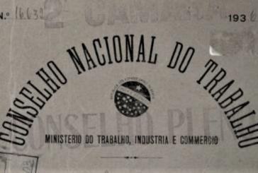 30 de abril de 1923: decreto cria o Conselho Nacional do Trabalho, órgão consultivo precursor do TST