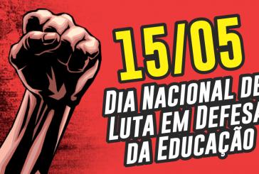 Greve nacional da educação será no dia 15