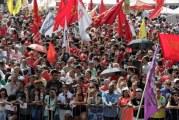Ato pelo 1º de Maio une contra nova Previdência centrais sindicais adversárias