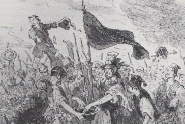 2 de junho de 1831: chega ao auge a revolta de trabalhadores em Merthyr, no País de Gales – onde a bandeira vermelha foi erguida em protesto pela primeira vez
