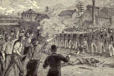 25 de julho de 1877: ocorre a chamada Batalha do Viaduto, um dos mais sangrentos confrontos grevistas do século XIX nos EUA