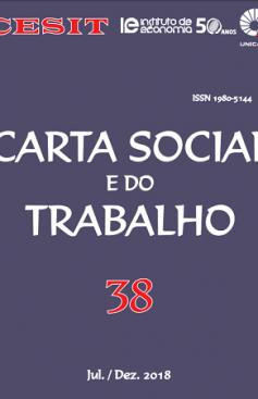 Carta Social e do Trabalho, n. 38