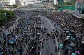 Greve geral paralisa Hong Kong, sob ameaça de repressão do governo