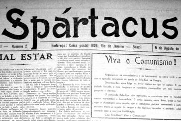 2 de agosto de 1919: é publicada a primeira edição do jornal Spártacus, importante veículo da imprensa anarquista brasileira