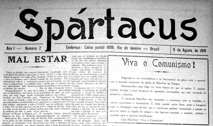Spártacus n.2 1919