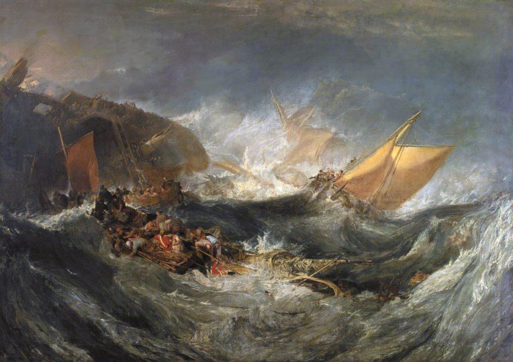 Turner – O naufragio 1808