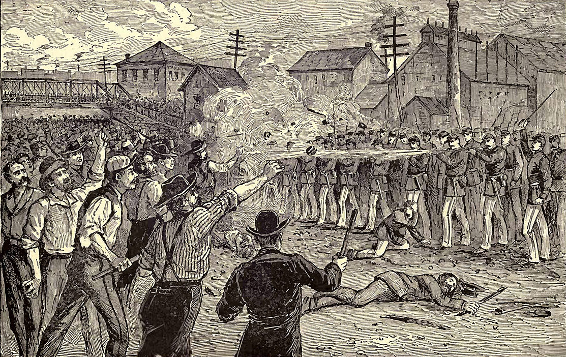 July 25, 1877 battle of the viaduct