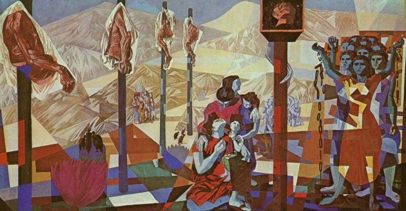 Portinari – mural – Tiradentes – 1949